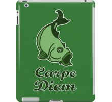 carpe diem citation humour funny quote iPad Case/Skin