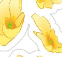 Primroses Flower Decoration Sticker