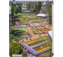 Floriade 2014 - Canberra - ACT - Australia iPad Case/Skin