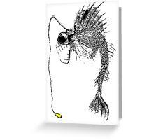 Angler Fish Greeting Card