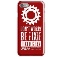 UrbArt® - Don't Worry iPhone Case/Skin