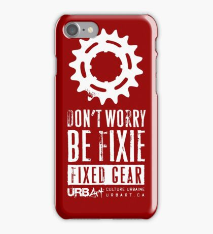UrbArt® - Fixed gear-01 iPhone Case/Skin