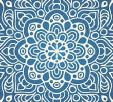 Beautiful Blue Mandala Sticker