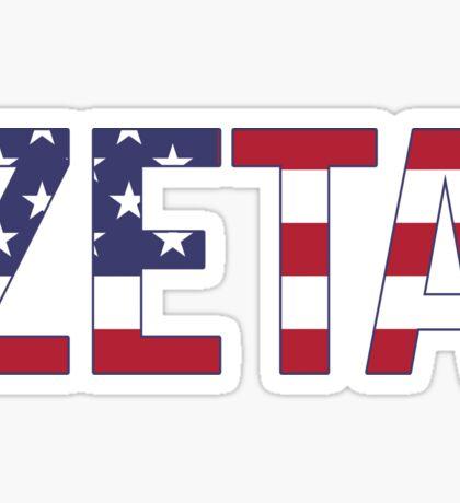 zeta americaaaaaa Sticker