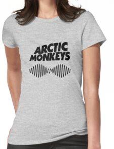 arctic monkeys - black shirt Womens Fitted T-Shirt