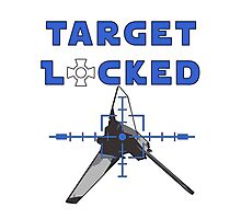 Target Locked Shuttle Photographic Print