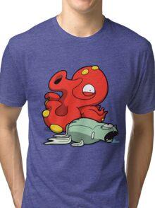 Octomon Tri-blend T-Shirt