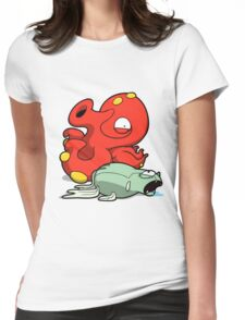 Octomon Womens Fitted T-Shirt