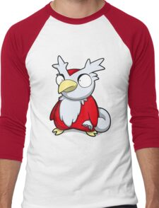Merry Deli Christmas Men's Baseball ¾ T-Shirt