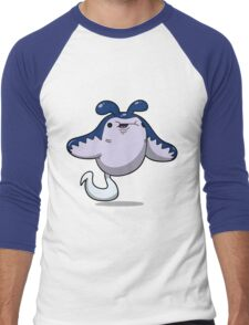 Chubby Stingray Men's Baseball ¾ T-Shirt