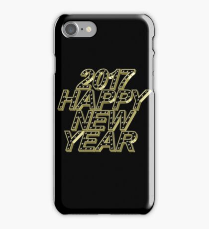 Happy New Year 2017 T Shirt iPhone Case/Skin