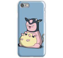 Milk Mc Milkface iPhone Case/Skin