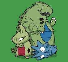 Terrific Tyrannic Dinosaurs Kids Tee