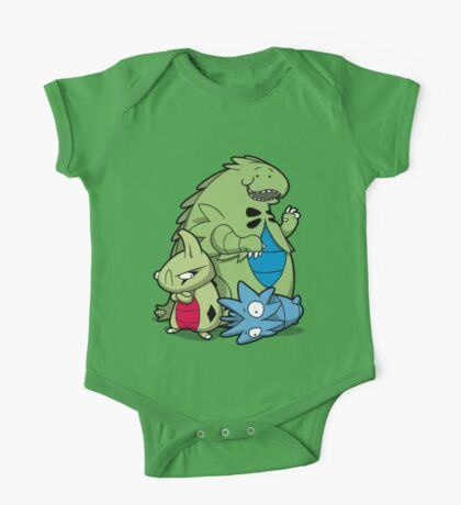 Terrific Tyrannic Dinosaurs One Piece - Short Sleeve