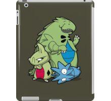 Terrific Tyrannic Dinosaurs iPad Case/Skin