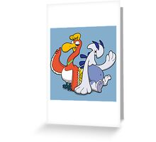 Gaurdian of the Sky and Sea Greeting Card