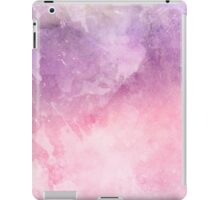 pink and purple watercolor texture iPad Case/Skin
