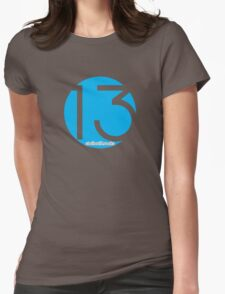 Station 13 Circle Logo Tee Womens Fitted T-Shirt