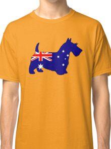 Australian Flag - Scottish Terrier Classic T-Shirt
