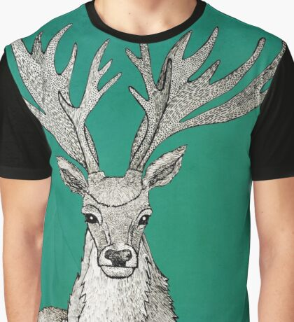 Stag of the woods Graphic T-Shirt