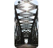 Sunshine Through the Train Bridge iPhone Case/Skin