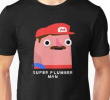 Super plumber man (white text) Unisex T-Shirt