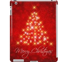 Merry Christmas Poster iPad Case/Skin