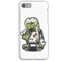 Zombie Game boy iPhone Case/Skin
