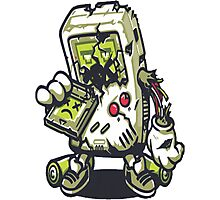 Zombie Game boy Photographic Print