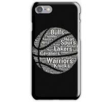 Basketball Teams iPhone Case/Skin