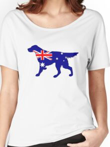 Australian Flag - Setter Women's Relaxed Fit T-Shirt