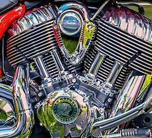 Indian Motorcycle by Tom Piorkowski