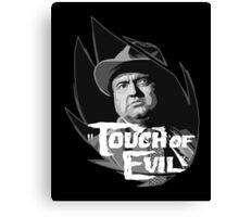 Touch of evil Orson Welles Canvas Print