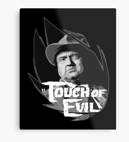 Touch of evil Orson Welles Metal Print