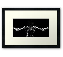 The Power and Strength  Framed Print