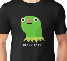 Kermy baby (white text) Unisex T-Shirt