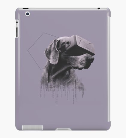 Virtual Reality Dog iPad Case/Skin