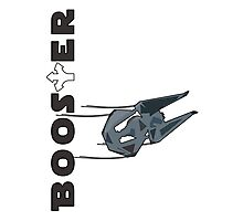 Booster Interceptor Photographic Print
