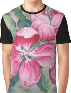 Flower of Crab-apple Graphic T-Shirt