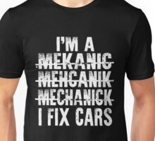 Mechanic T-Shirts  Unisex T-Shirt