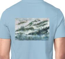 Trees in the Mist Unisex T-Shirt