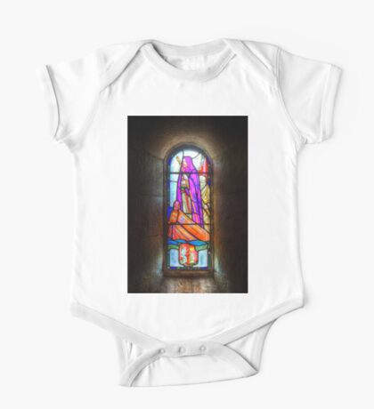 Stained Glass Window One Piece - Short Sleeve