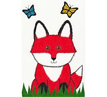 Ferdinand the Red Fox Art Photographic Print