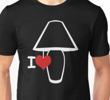 Get New I Love Lamp 4 Funny T-Shirts Unisex T-Shirt