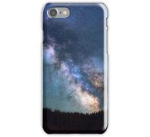 stary blue sky space iPhone Case/Skin