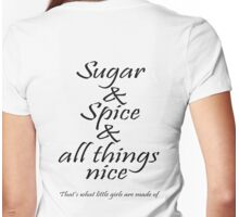 Sugar and Spice Womens Fitted T-Shirt