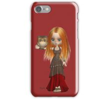 Owl and Handmaiden iPhone Case/Skin