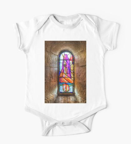 Chapel Stained Glass Window One Piece - Short Sleeve