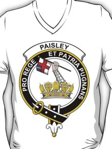 Paisley Clan Badge T-Shirt