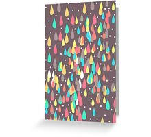 Rainbow Drops Greeting Card